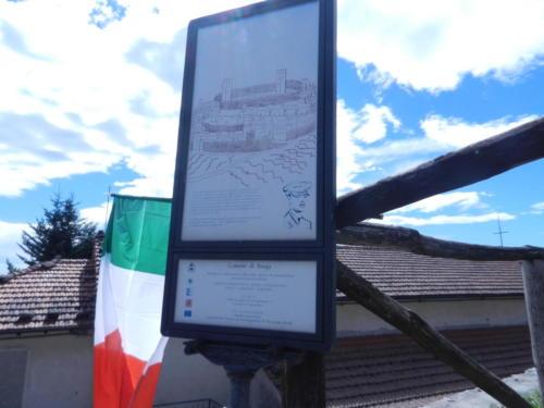 Memorial to Lt. John Fox at Sommacolonia