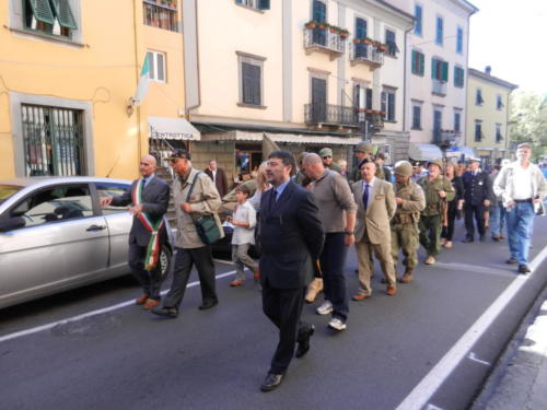 Parading in the Streets of Bagni di Lucca