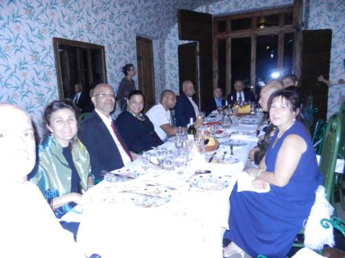 Grand Banquet at Villa when I was knighted