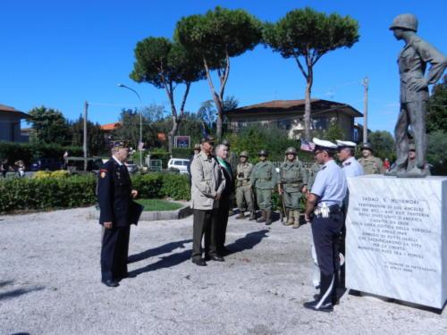Honoring Sadao Munemori at Pietrasanta