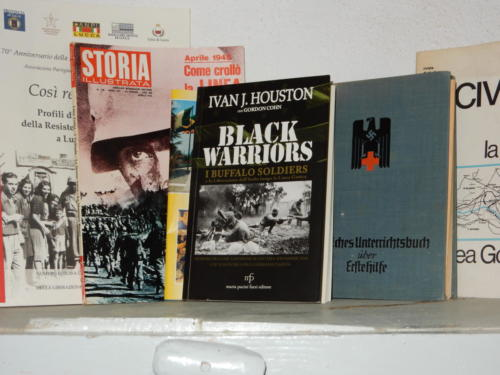 Italian edition of Black Warriors book