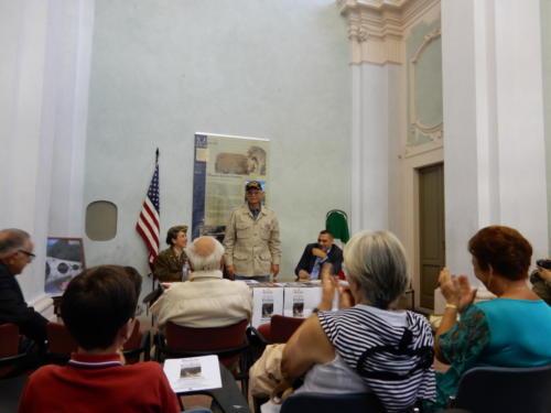 Speaking at Borgo a Mozzano