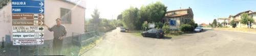 Via Volto Santo, site of our final battle
