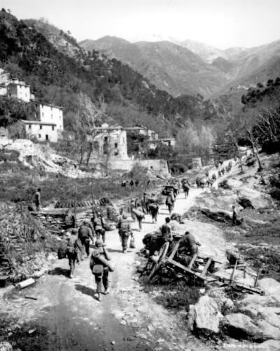 Buffalo Soldiers, in last World War II battle on the Via Volto Santo